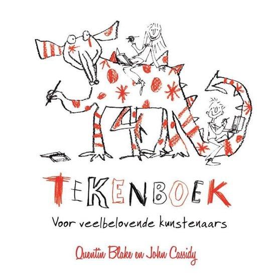 Boek cover Tekenboek voor veelbelovende kunstenaars van Quentin Blake (Hardcover)