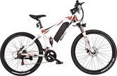 MOOVWAY Elektrische ATV 27,5 Range 40 km - 7 speed Shimano - Aluminium frame - Wit
