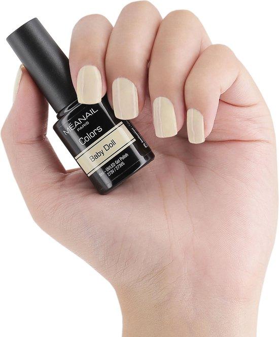 Gellak - MEANAIL - Vegan - COOKIE PASTEL - 6 kleuren gel nagellak