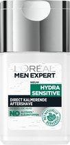 L'Oréal Men Expert Hydra Sensitive Aftershave - 125ml -Gevoelige huid