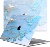 Lunso - cover hoes - MacBook Pro 13 inch (2020) - Marble Ariel