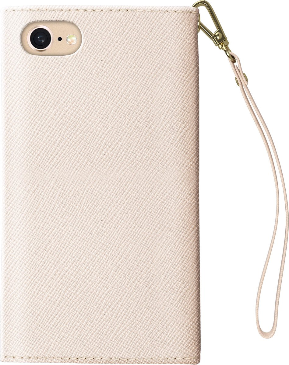 Afbeelding van product IOSIDMC-IXS-128  iDeal of Sweden iPhone XS/X Mayfair Clutch Beige