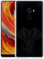 Xiaomi Mi Mix 2 Hoesje Elephant Mandala Black
