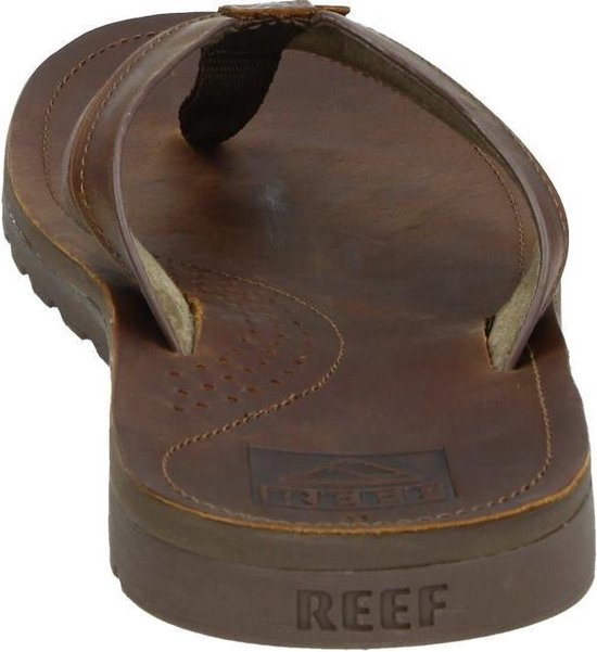 Reef Voyage Lux Heren Slippers - Brown/Brown - Maat 44