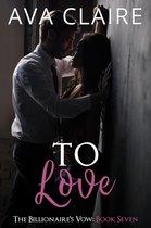 Omslag To Love