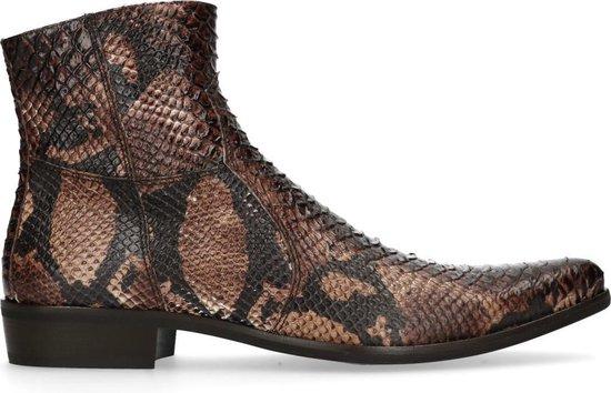 Sacha - Heren - Boots met snakeskin print - Maat 44