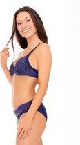 Nickey Nobel Stella Marine Blauw - Voorgevormde Bikinitop Maat: 75E