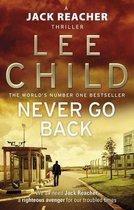 Boekomslag van 'Never Go Back'