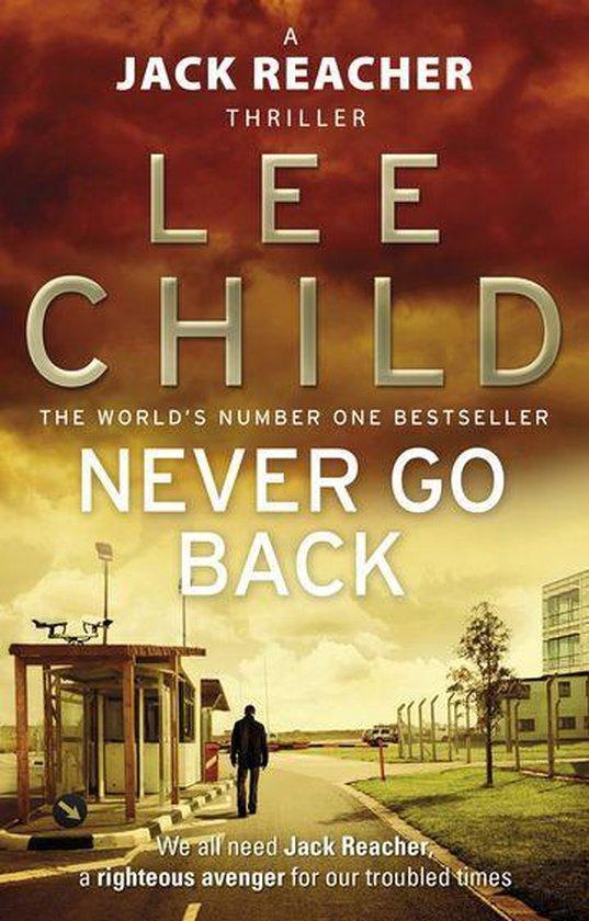 Boekomslag voor Never Go Back