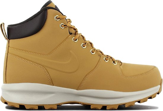 Nike Manoa Leather Heren Sneakers - Haystack/Haystack-Velvet Brown - Maat 41