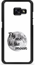 Galaxy A3 2017 Hardcase Hoesje Fly me to the Moon