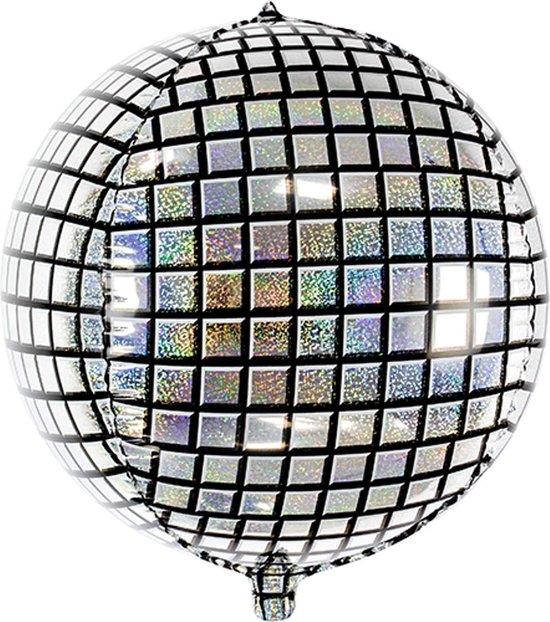 PARTYDECO - Aluminium discobal ballon - Decoratie > Ballonnen
