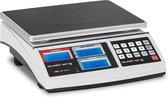 Telweegschaal - 30 kg / 1 g - wit