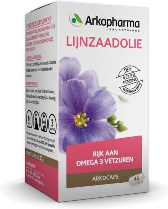Lijnzaadolie Arkocaps /A