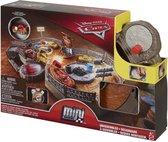 Mattel Disney Pixar Cars Mini Racers Crank & Crash Derby Playset autoracebaan