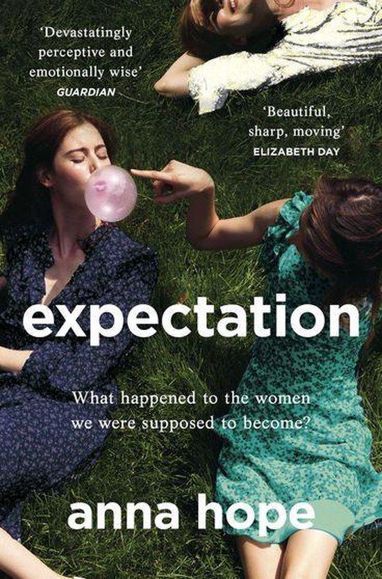 Boek cover Expectation van Anna Hope (Onbekend)