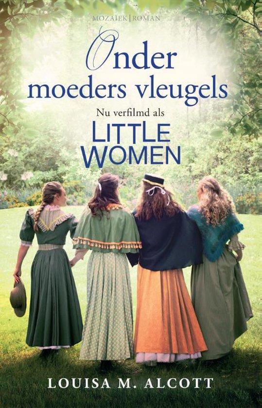 Boek cover Onder moeders vleugels van Louisa May Alcott (Paperback)