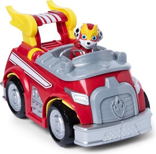 Afbeelding van PAW Patrol Mega Pups Super Paws Transformerende Voertuig Marshall speelgoed