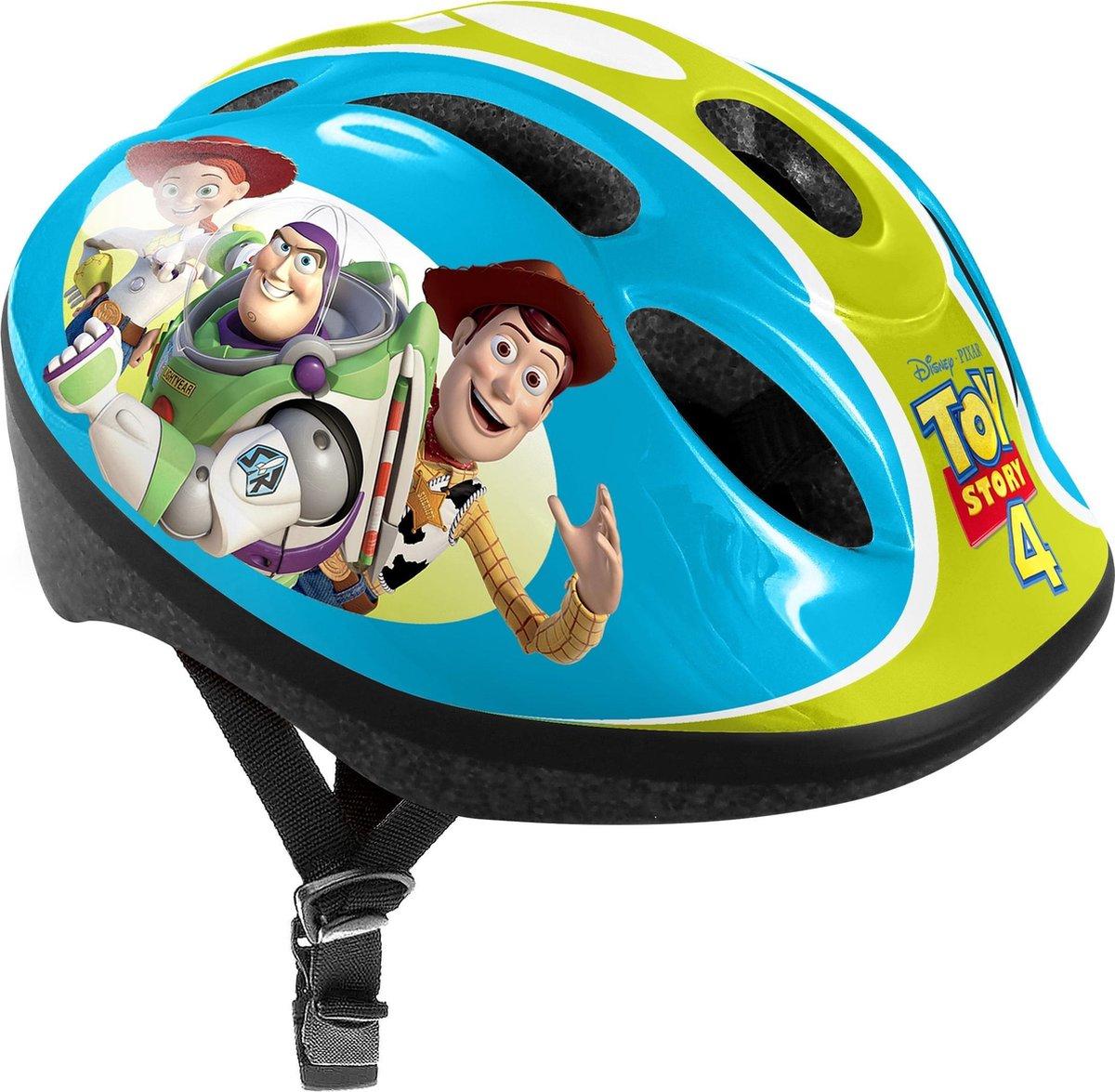 Disney Toy Story 4 Fiets-/skatehelm Jongens Blauw/groen 53-56 Cm