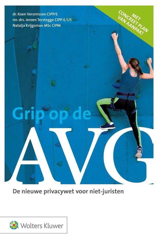 Grip op de AVG - Jeroen Terstegge |