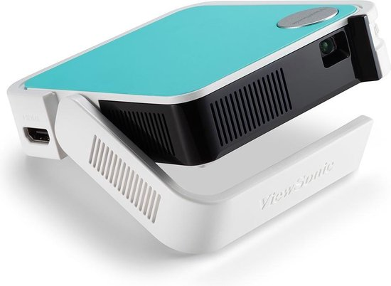Viewsonic M1 mini beamer/projector 50 ANSI lumens LED WVGA (854x480) Draagbare projector Wit