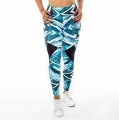 High waist sport legging dames | Graffiti beasts | Streetmax | Unieke graffitiprint - Trun -  Maat XL