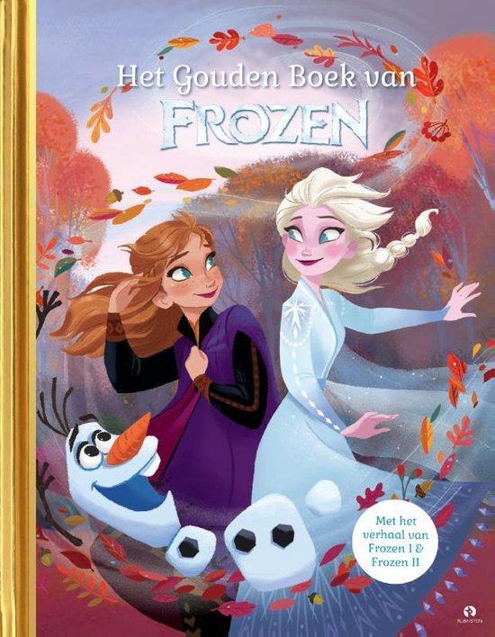Boek cover Het Gouden Boek van Frozen van Disney (Hardcover)