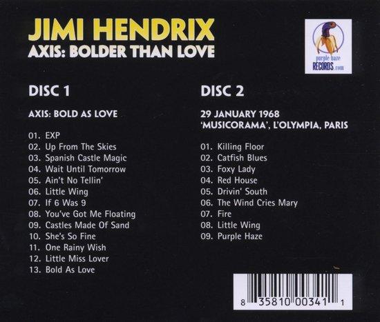 &Middot;Axis: Bolder Than Love / Musicorama