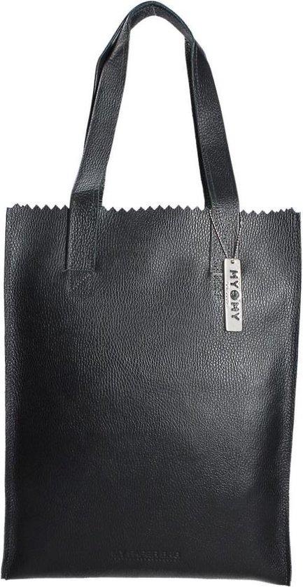 MYOMY My Paper Bag Long handle zip Dames Schoudertas - rambler black