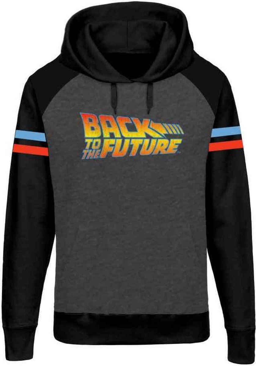 Back To The Future Hoodietrui Logo Multicolours | Attitude