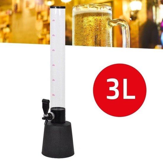 Haushalt 12008 - Tapkraan - bier - ranja - wijn - 3 liter - 85 cm hoog