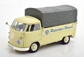 Volkswagen T1B Bus Pritschen-Wagen 1959 Beige / Grijs 1-18 Schuco