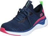 Skechers Solar Fuse Dames Sneakers - Blauw - Maat 37