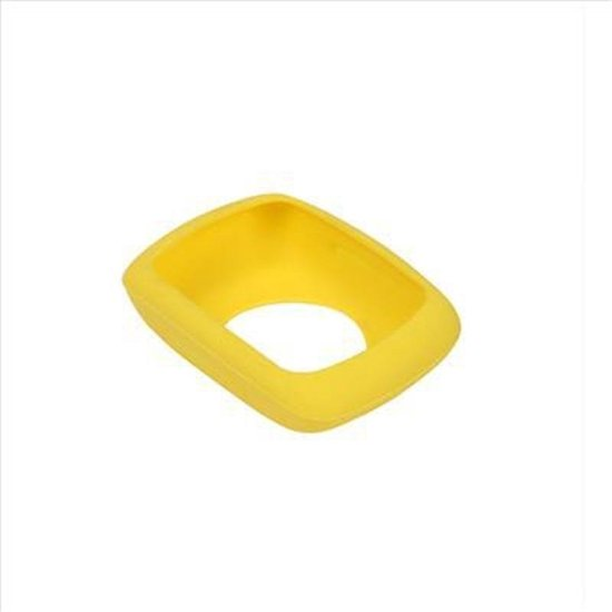 Bicycle Code Table Shockproof Silicone Colorful Protective Case for Garmin Edge 500 / 200(Yellow)