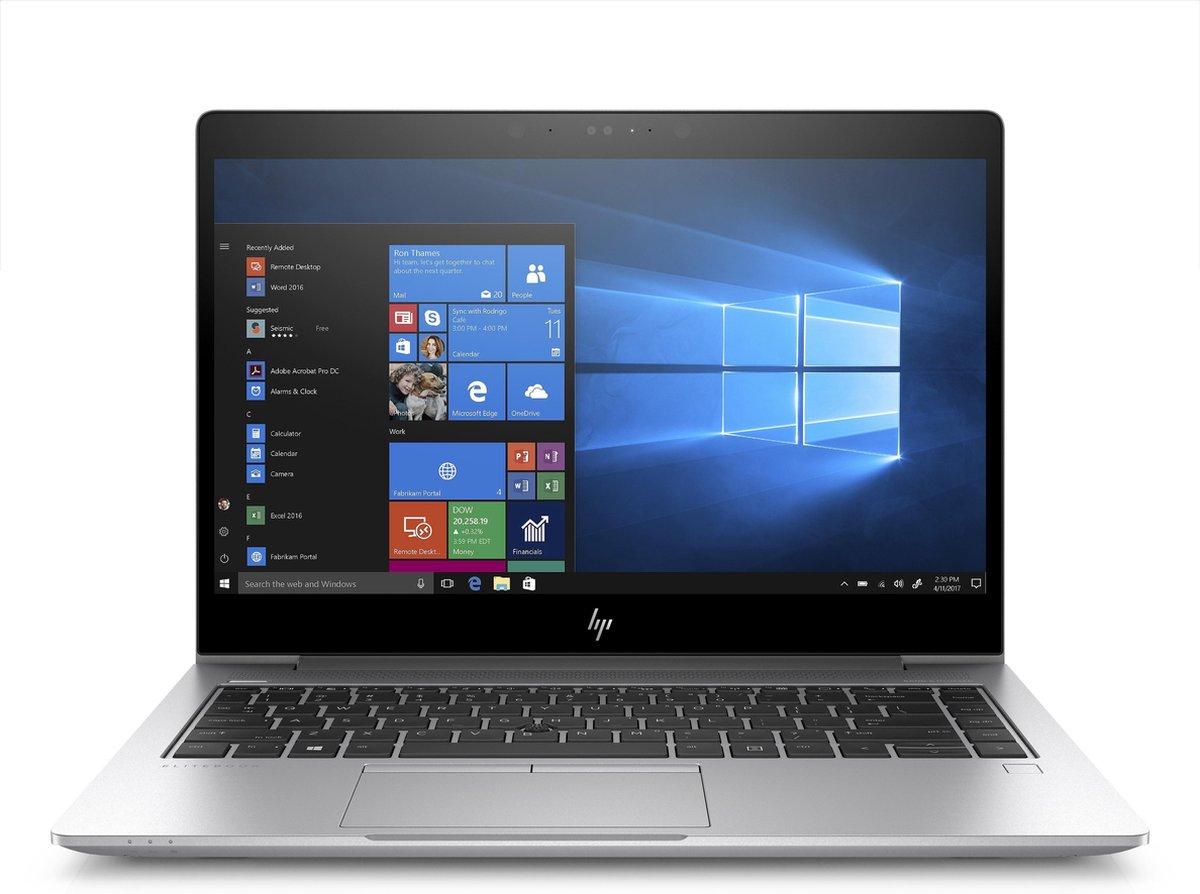 """HP EliteBook 840 G5 DDR4-SDRAM Notebook 35,6 cm (14"""") 1920 x 1080 Pixels Intel® 8de generatie Core™ i5 8 GB 256 GB SSD Wi-Fi 5 (802.11ac) Windows 10 Pro Zilver"""