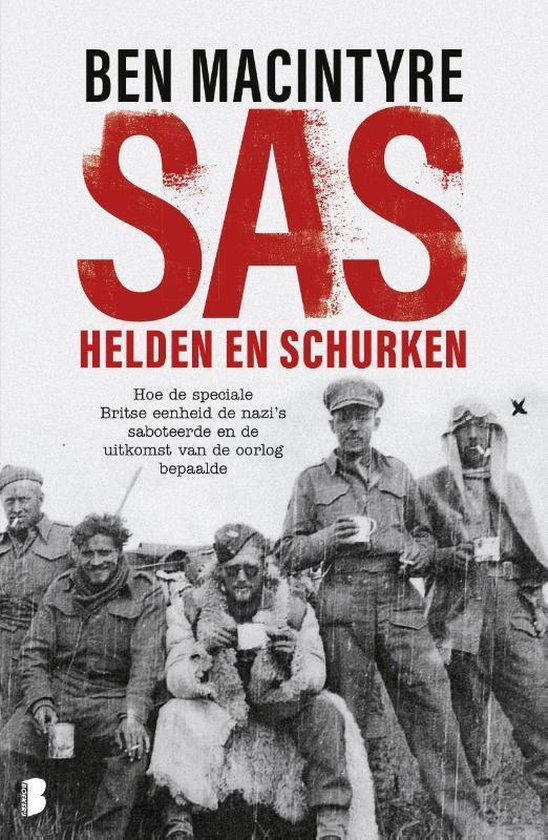 Boek cover SAS: helden en schurken van Ben Macintyre (Paperback)