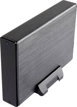 Renkforce RF-2124108 SATA-HDD-behuizing 3.5 inch USB 3.2 Gen 1 (USB 3.0) - Zwart