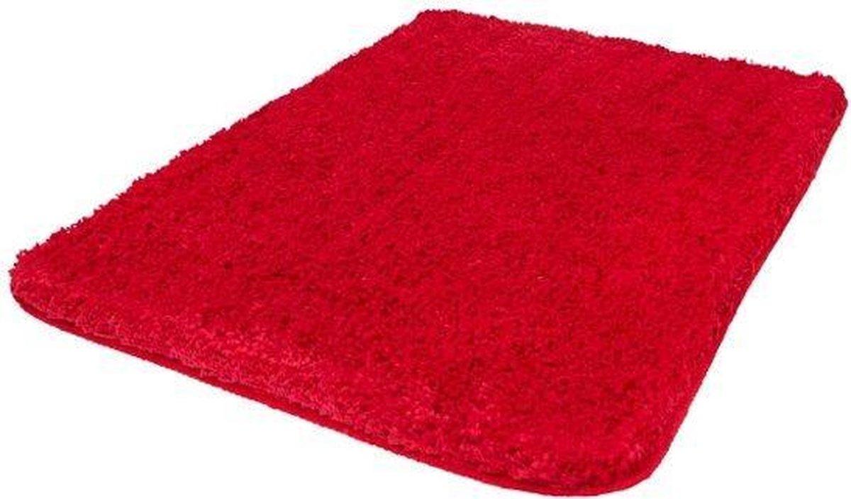 Kleine Wolke - Badmat Trend rood 60x90cm - Kleine Wolke