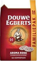 Douwe Egbert Aroma Rood Koffiepads - 54 stuks