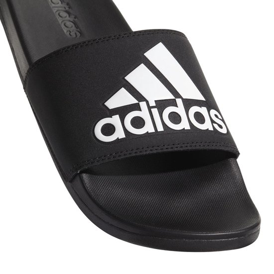 adidas Adilette Cloudfoam Plus slippers heren zwartwit
