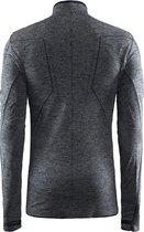 Craft Active Comfort Zip Sportvest Heren - Black
