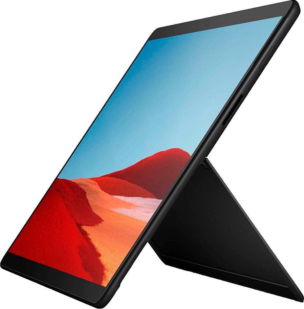 Microsoft Surface Pro X (2019)  – 13 Inch – Microsoft SQ1 – 256 GB – Zwart