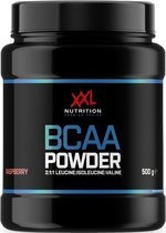 XXL Nutrition BCAA Powder Framboos 500 gram