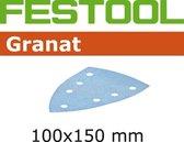 Festool Schuurstrook Granat delta 100 x 150mm P80 doos van 10 stroken