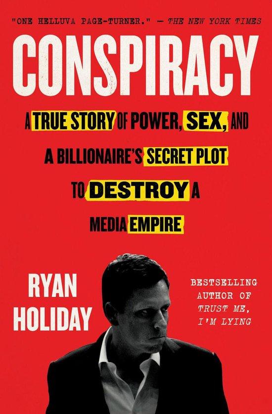 Boek cover Conspiracy van Ryan Holiday (Onbekend)