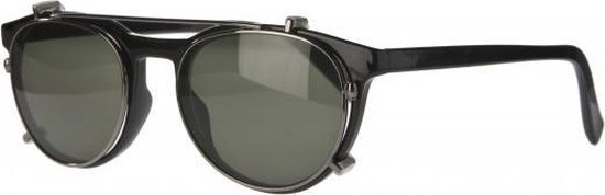 Icon Eyewear NTB350 Figo Clip-On Zonneleesbril +1.50 - Glanzend zwart