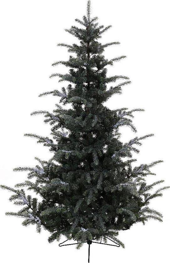 Everlands Omorika fir Frosted kunstkerstboom 210 cm - besneeuwd - zonder verlichting