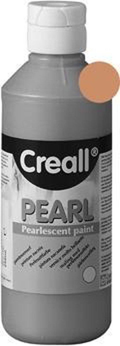 VERF CREALL PEARL BRUIN 250ML