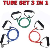 Resistance Tube Focus Fitness  - SET 3 in 1