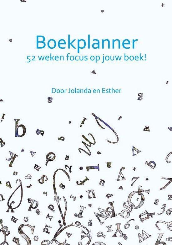 Boekplanner - Jolanda Pikkaart  